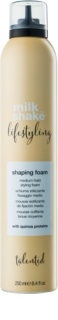 Milk Shake Lifestyling Heat Protectant Styling Foam for Volume and Hold