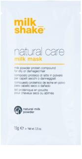 Milk Shake Natural Care Milk mascarilla de leche en polvo fortalecedora para cabello