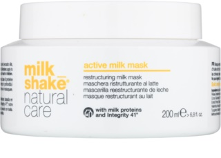 Milk Shake Natural Care Active Milk активна млечна маска за суха и увредена коса