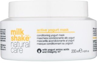 Milk Shake Natural Care Active Yogurt masca de iaurt activa par