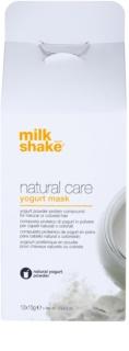 Milk Shake Natural Care Yogurt regenerierende Maske mit Jogurth