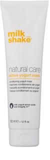 Milk Shake Natural Care Yogurt Feuchtigkeit spendende Joghurtmaske für natürliches oder gefärbtes Haar