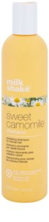 Milk Shake Sweet Camomile σαμπουάν με χαμομήλι για ξανθά μαλλιά