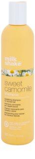 Milk Shake Sweet Camomile šampon s heřmánkem pro blond vlasy