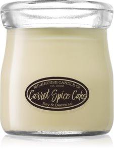 Milkhouse Candle Co. Creamery Carrot Spice Cake vonná svíčka 142 g Cream Jar