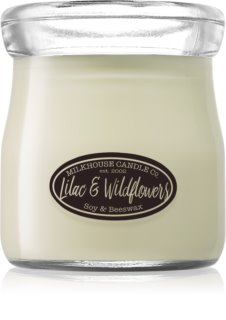 Milkhouse Candle Co. Creamery Lilac & Wildflowers vonná svíčka 142 g Cream Jar
