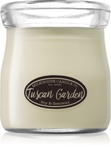 Milkhouse Candle Co. Creamery Tuscan Garden bougie parfumée 142 g Cream Jar