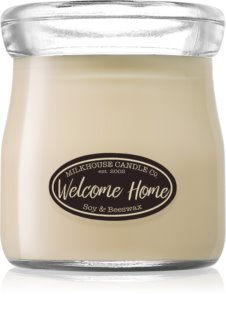 Milkhouse Candle Co. Creamery Welcome Home Duftkerze  142 g Cream Jar