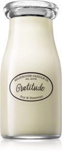Milkhouse Candle Co. Creamery Gratitude duftkerze  Milkbottle 227 g