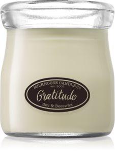 Milkhouse Candle Co. Creamery Gratitude bougie parfumée 142 g Cream Jar