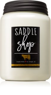 Milkhouse Candle Co. Farmhouse Saddle Shop Αρωματικό κερί 737 γρ Mason Jar