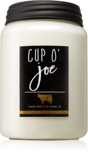 Milkhouse Candle Co. Farmhouse Cup O' Joe bougie parfumée 737 g Mason Jar
