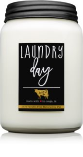 Milkhouse Candle Co. Farmhouse Laundry Day αρωματικό κερί Mason Jar