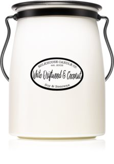 Milkhouse Candle Co. Creamery White Driftwood & Coconut geurkaars Butter Jar