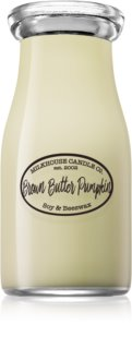Milkhouse Candle Co. Creamery Brown Butter Pumpkin bougie parfumée Milkbottle