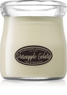 Milkhouse Candle Co. Creamery Pineapple Gelato bougie parfumée 142 g Cream Jar