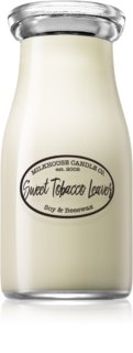 Milkhouse Candle Co. Creamery Sweet Tobacco Leaves ароматна свещ  227 гр. Milkbottle