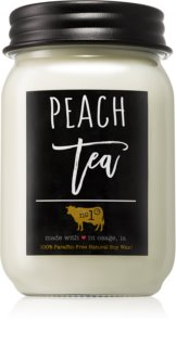 Milkhouse Candle Co. Farmhouse Peach Tea candela profumata 368 g