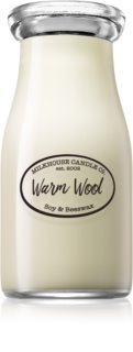 Milkhouse Candle Co. Creamery Warm Wool Duftkerze  227 g Milkbottle