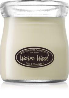Milkhouse Candle Co. Creamery Warm Wool vela perfumada  142 g Cream Jar