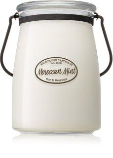 Milkhouse Candle Co. Creamery Moroccan Mint vonná svíčka Butter Jar