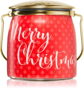 Milkhouse Candle Co. Creamery Victorian Christmas bougie parfumée Butter Jar