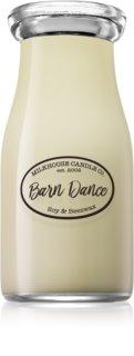 Milkhouse Candle Co. Creamery Barn Dance vela perfumada  227 g Milkbottle