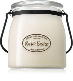 Milkhouse Candle Co. Creamery Barn Dance doftljus Butter Jar