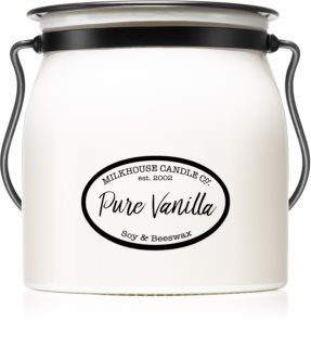 Milkhouse Candle Co. Creamery Pure Vanilla αρωματικό κερί Butter Jar