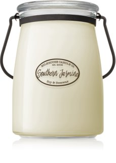 Milkhouse Candle Co. Creamery Southern Jasmine ароматна свещ  624 гр. Butter Jar