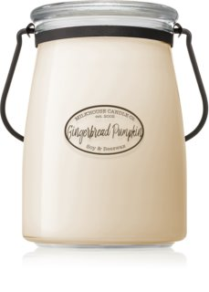 Milkhouse Candle Co. Creamery Gingerbread Pumpkin lumânare parfumată  Butter Jar