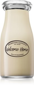 Milkhouse Candle Co. Creamery Welcome Home vonná svíčka Milkbottle
