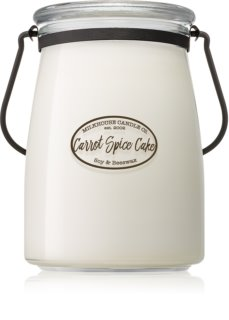 Milkhouse Candle Co. Creamery Carrot Spice Cake bougie parfumée 624 g Butter Jar