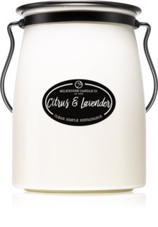 Milkhouse Candle Co. Creamery Citrus & Lavender bougie parfumée Butter Jar