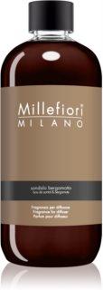 Millefiori Natural Sandalo Bergamotto ricarica per diffusori di aromi 500 ml