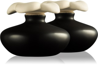Millefiori Air Design Flower Diffusor Extrasmall aroma difuzor brez polnila 2 kos  (Black)