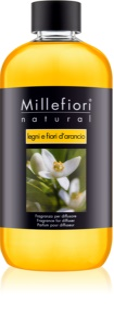 Millefiori Natural Legni e Fiori d'Arancio nadomestno polnilo za aroma difuzor