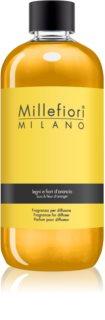 Millefiori Natural Legni e Fiori d'Arancio recarga de aroma para difusores 500 ml