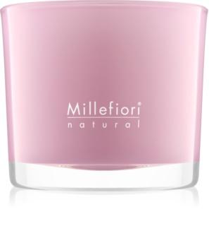 Millefiori Natural Magnolia Blosoom & Wood ароматна свещ  180 гр.