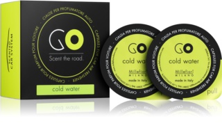 Millefiori GO Cold Water Car Air Freshener 2 kpl Refill