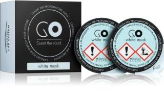 Millefiori GO White Musk Autoduft 2 St. Ersatzfüllung