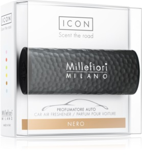 Millefiori Icon Nero aромат для авто   Hammered Metal