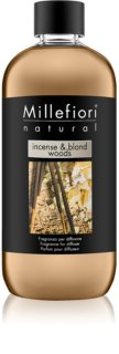Millefiori Natural Incense & Blond Woods aroma diffúzor töltelék 500 ml