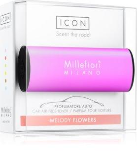 Millefiori Icon Melody Flowers ambientador de coche para ventilación Classic Viola