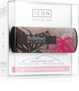 Millefiori Icon Magnolia Blossom & Wood illat autóba Textile Geometric