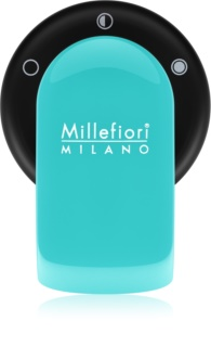 Millefiori GO Scentportable Holder for Car   With Refill Acquamarina (Sandalo Bergamotto)