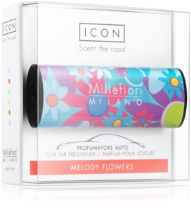 Millefiori Icon Melody Flowers aромат для авто   Cuori & Fuori