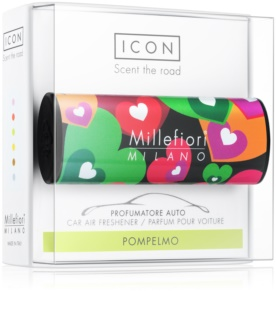 Millefiori Icon Pompelmo parfum pentru masina   Cuori & Fuori