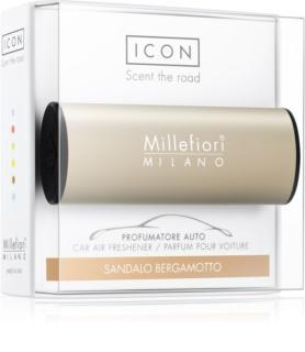 Millefiori Icon Sandalo Bergamotto odświeżacz do samochodu   Metallo
