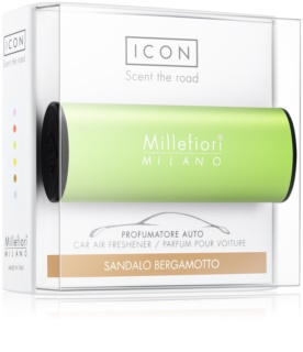 Millefiori Icon Sandalo Bergamotto Car Air Freshener   Classic